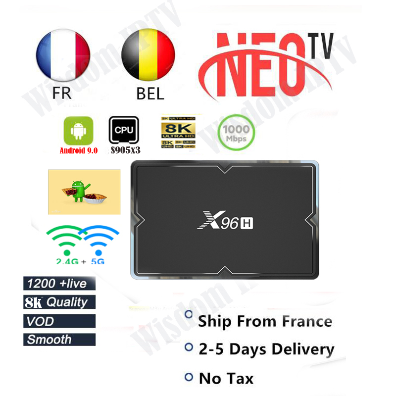 Iptv France X96 H Neopro Iptv Subscription Europe French Arabic Italian Belgium Spanish IPTV Code Extreme Iptv Smarter Free Test