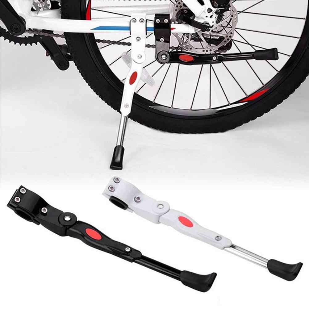 2pcs Bike Kickstand Durable Black Support Parking Rack Foot Brace for Bike