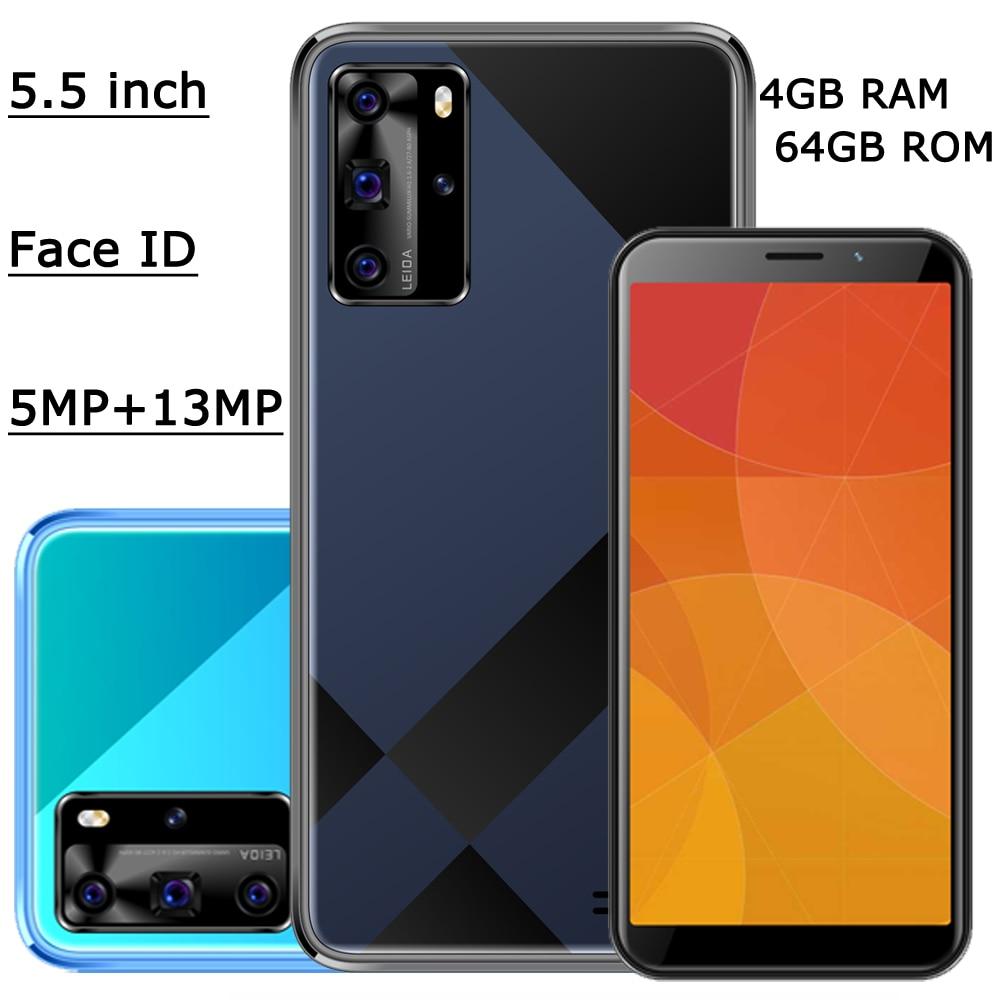 Face ID 8A 4G Оперативная память 64G Встроенная память смартфонов оригинальный 5MP + 13MP глобальная версия разблокирована спереди/сзади Камера Wi-Fi 5,5 ...