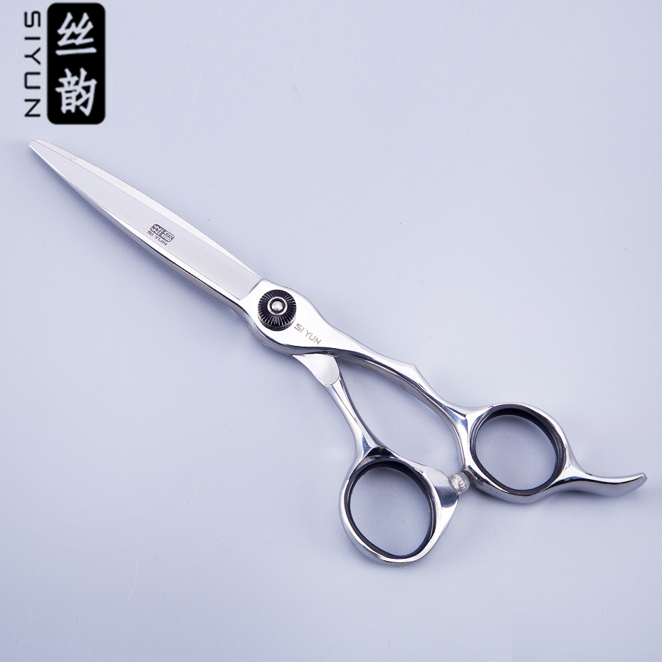 SI YUN 6.0inch(16.50cm) Length KS60 Model Of Scissors Tesoura De Cabeleireiro Profissional Hairdressing Scissors Wholesale
