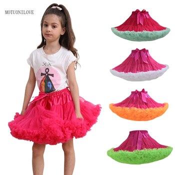 Baby Girls Tutu Skirts Kids Dancewear For Tulle Children Lovely Ball Gowns Birthday Party Pettiskirts