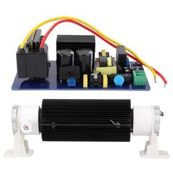 10g Silica Tube Ozone Generator Water Cooling Ceramic Ozonator Adjustable Power Supply Kit For Air Water Purifier