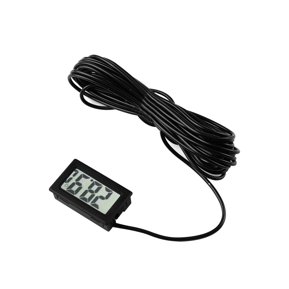 TPM-10 FY-10 2M 3M 5M LED Digital Thermometer Temperature Sensor Meter Detector Tester 5V 12V for Car Indoor Baby Bath Incubator