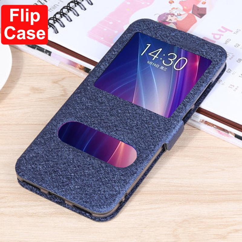 For Meizu X8 case thin stand leather case for Meizu 16th plus 16X cover Note 8 9 flip case for Meizu Note8 Note9 Pro7 Pro5 case