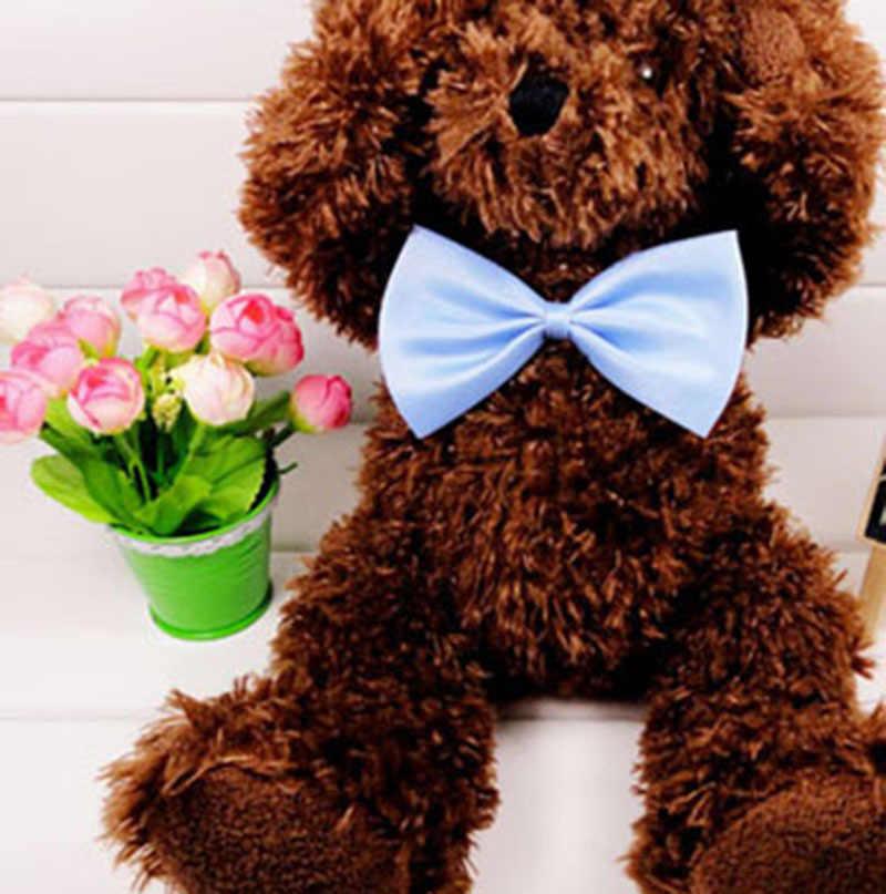 1 sztuk Pet muszka dla psa kot krawat regulowany Puppy Kitten Collar Bowknot formalny krawat Party Fancy Neckwear dla Pet ślub urodziny