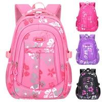 Модный Большой Вместительный детский школьный рюкзак для девочек-подростков  водонепроницаемый дышащий школьный рюкзак mochilas