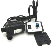High pressure pump, 2600~3000L/H 8M High Lift, 12V 24V DC Submersible Brushless Small Water Pump, for Hot Water