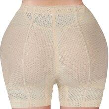 Burvogue محدد شكل الجسم سراويل النساء ملابس داخلية جيدة التهوية بعقب رافع سراويل محسن بعقب سادة الورك السراويل سراويل تحكم موجز