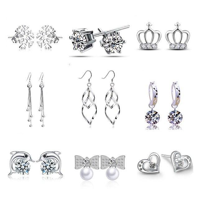 Silver Plated Earrings 1
