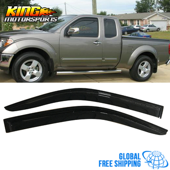 Fit For 05-17 Nissan Frontier Acrylic Window Visors 2Pc Set Global Free Shipping Worldwide