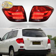 цена на Car LED Tail Light Taillight For Toyota Highlander 2008 2009 2010 - 2012 Rear Running Light + Brake Lamp + Reverse + Turn Signal