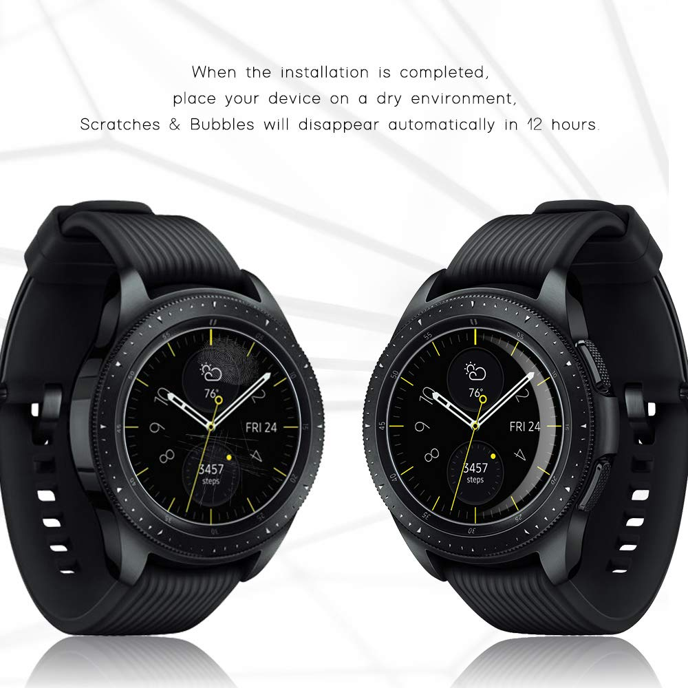 3Pcs Hydrogel Protective Tempered Film For Galaxy Watch SM-R810 42mm 40MM For SM-R500 Protection Film Full Screen Permeability