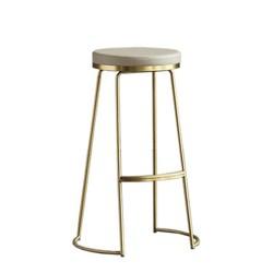 Nordic Ins Wind Bar stołki krzesło barowe kreatywne krzesło kawowe złoty wysoki stołek proste krzesło do jadalni kute stolik barowy -