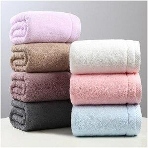 Image 2 - Towel   Super Soft 100% Cotton Machine Washable Large Bath Towel (140 cm x 70 cm) Super Absorbent Towel   Luxurious Bath Towel