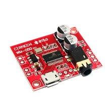 Пульт дистанционного управления Мини модифицированный стерео MP3 декодер плата схема Bluetooth 5,0 приемник модуль-усилитель без потерь автомобильный динамик