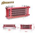 Масляный радиатор для мотоцикла, китайский радиатор, масляный радиатор, набор для 50cc 70cc 90cc 110cc 125cc 140cc, горизонтальный двигатель