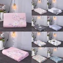 Cover Pillowcase Memory Foam Contour Cotton For Latex Pillow Case Rebound