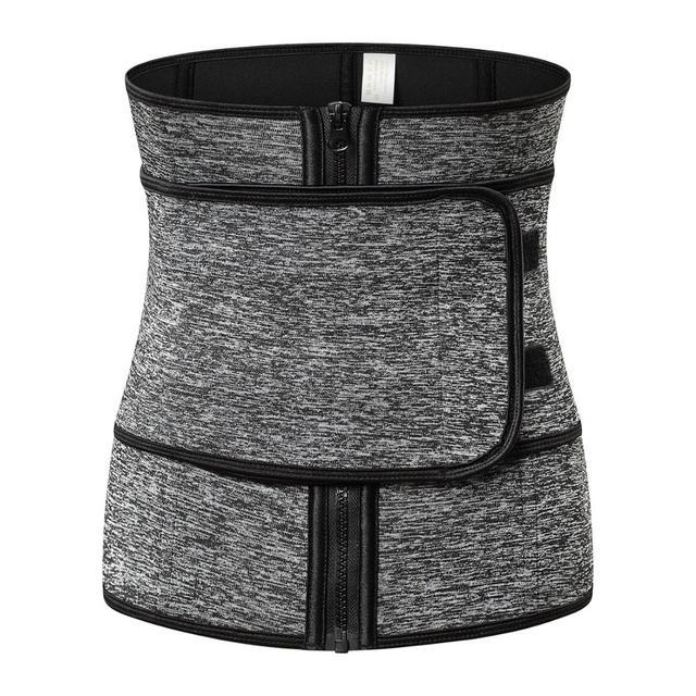 TJ-TingJun Waist Corset Trainer Sauna Sweat Sport Girdles  Women Lumbar Shaper Workout Trimmer Shapewear Slimming Belt H1029