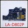15 5567 материнская плата для ноутбука BAL21 LA-D802P REV: 1 0 (A00) с I3-7100U ЦП тест хороший