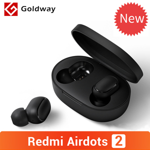 Xiaomi Redmi AirDots 2 Wireless Bluetooth 5.0 TWS Earphone Headset Left Right Low Lag Mode Mi True Wireless Stereo Auto Link(Hong Kong,China)