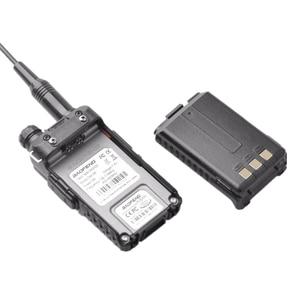 Image 4 - Baofeng Walkie Talkie Digital DM 5R DMR, 5W, VHF, UHF, 136 174/400 480MHz de largo alcance, estación de Radio bidireccional DM 5R, DM5R