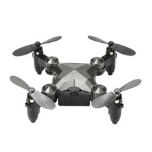 Rc Drones with Camera Mini Foldable Channel Gyroscope Aircraft and Watches(China)