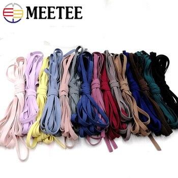pink Flat rubber band black bordeaux 8 mm flat elastic tape white black-blue pink