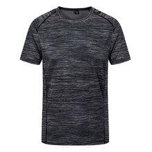 Camisetas creativas simples de cuello redondo para hombre, camisetas de manga corta transpirables de secado rápido, Tops informales de gran tamaño