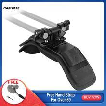 Camvate Camera Schouder Pad Met 360 ° Swivel 15Mm Rod Klem Voor Dslr Camera/Video Camcorder Schouder Mount rig Ondersteuning Systeem
