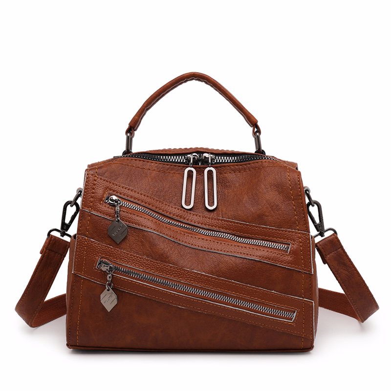 Multifunction Women Leather Backpacks High Quality Sac A Dos Female Travel Shoulder Bag Ladies Bagpack Vintage Small BackPack