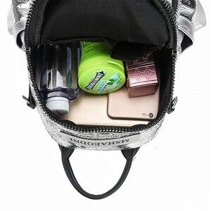 Image 5 - אופנה תרמיל נשים באיכות גבוהה Bagpack רך עור לנערות 3 ב 1 גבירותיי נסיעות תרמיל שק דוס