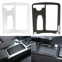 Car styling Carbon fiber Multimedia Hand Rest Panel Covers For W204 W212 C Class E Class For Mer cedes Benz high quality fashion and durable for benz c class w204 models car mirror covers carbon fiber refit