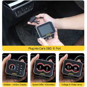 Image 5 - AUTOOL X80 Obd2 Hud Car Engine Code Reader On board Computer Head Up Display 2 IN 1 Multi function Diagnostic Full OBDII