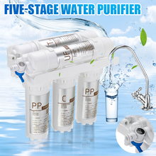 5pc/set 3+2 Ultrafiltration Drinking Water Filter System Home Kitchen Water Purifier With Faucet Tap Water Filter Cartridge Kits