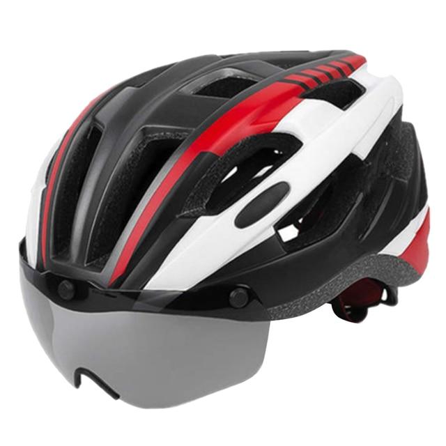 Купить шлем для езды на велосипеде со съемным козырьком очки взрослых картинки цена
