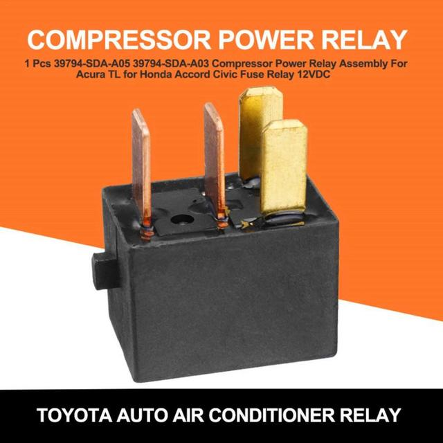 For  Omron G8HL H71  Power Relay Assembly 12V DC A/C Compressor Relay Fuse Relay 39794 SDA A03