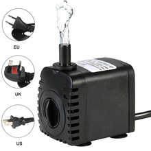 600L/H 8W Water Pump Submersible Pump For Aquarium Fountain Pond Pump Fish Tank Garden Pond Pumps Fountain Mini Pomp 110-240V 4W