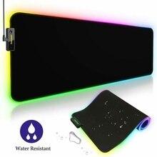 LED 10 Couleur Tapis de Souris Grand XXL Large 800x300x4 PC Ordinateur Mousepad