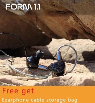 Shozy hybride double pilote Hifi casque DJ filaire isolation du bruit moniteurs musique écouteurs stéréo casque 2pin câble détachable