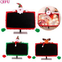 New Christmas Ornaments Decorations For Home 2019 Navidad Metty Boots Santa Claus Computer Cover