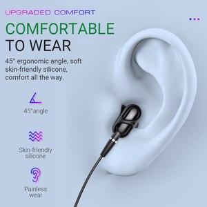 Image 3 - Hoco auriculares con cable y micrófono, dispositivo con conector jack 3,5 y reducción de ruido, trenza TPE de 1,2 m, con control remoto de un botón