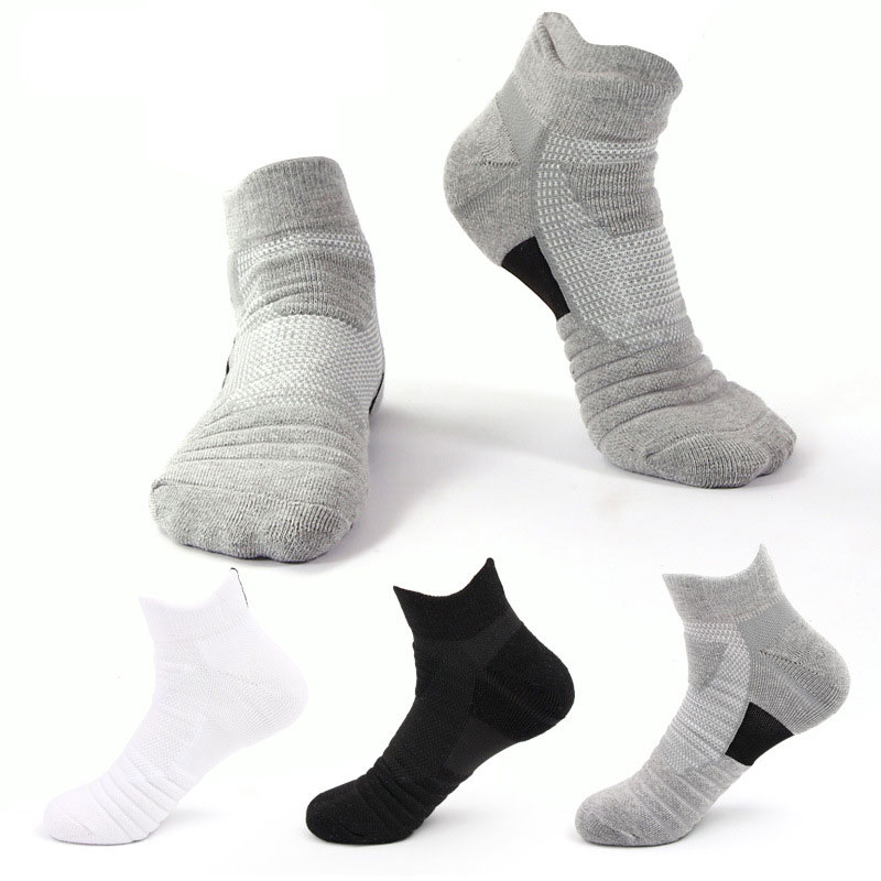 Outdoor Sports Basketball Socks Men Football Cycling Socks Compression Socks Cotton Towel Bottom Non-slip Men's Woman Socks Y8