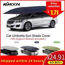 KKMOON 4,2*2,1 м уличный автомобильный тент, автомобильный зонтик, солнцезащитный козырек, покрытие из ткани Оксфорд, полиэфирные Чехлы без кронштейна