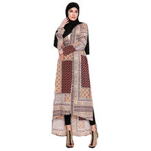 Американская мусульманская Мода абайя платье женская одежда