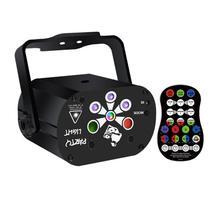 120 wzór laserowe oświetlenie sceniczne LED RGB USB lampa projektorowa Party DJ światło dyskotekowe mini etap światła dziwne projekcji światła