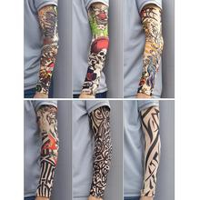 Arm Warmer Unisex Quick Dry UV Protection Outdoor Temporary Fake Running Sleeve Skin Proteive Nylon Tattoo Sleeves Stockings
