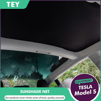 TEY Tesla Model 3 Glass Roof For Tesla Model 3 Roof Sunshade Skylight Blind Shading Net Protector Tesla Model Three Accessories