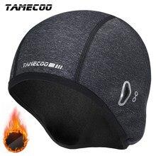 Tamecoo inverno ciclismo boné à prova de vento térmica esqui correndo motocycle equitação chapéu à prova dwaterproof água mtb bicicleta ciclismo headwear