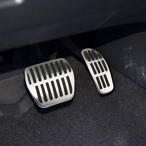 Image 2 - Car Gas Brake Pedal Cover Fit for Nissan X Trail Rogue T32 Qashqai Rogue Sport J11 Kicks for Renault Koleos Kadjar Samsung QM6