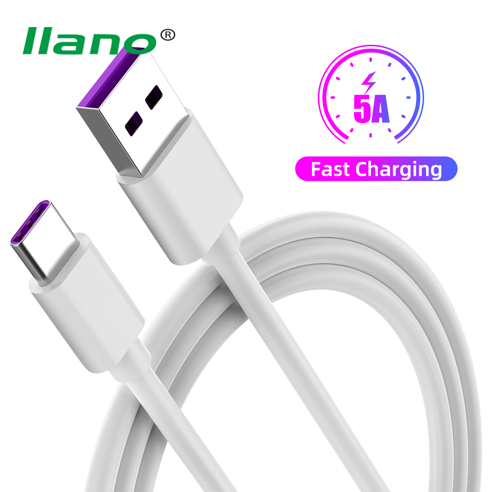 5A <font><b>USB</b></font> C <font><b>Cable</b></font> Type C <font><b>Cable</b></font> 0.5m/1m/2m/<font><b>3m</b></font> Fast Charger <font><b>Cable</b></font> PVC Pure Copper Quick Charging <font><b>Cable</b></font> For Huawei P20 P30 Samsung image
